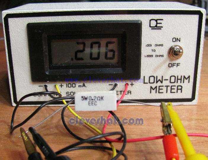 低值电阻表