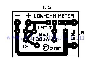 低值电阻表PCB