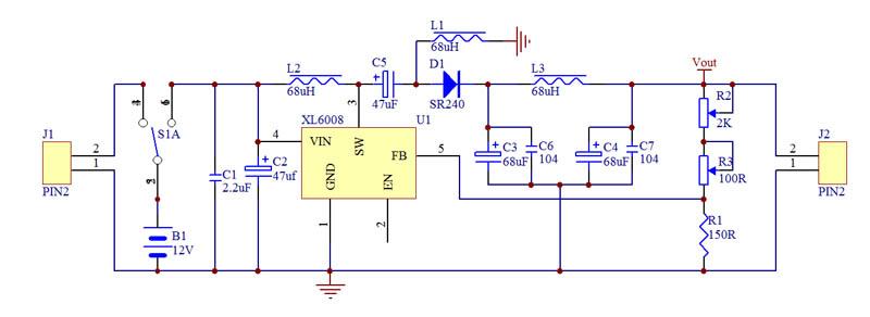 18V可调电源原理图