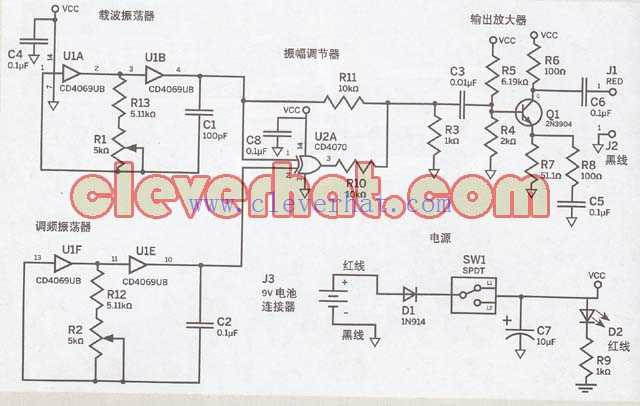 地下电缆探测器
