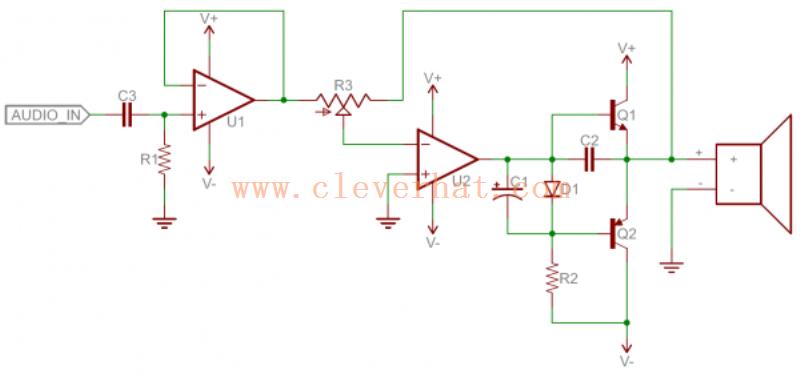 例如模拟电路